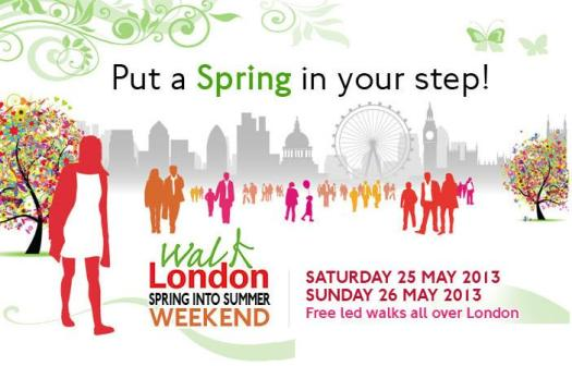 Walk London - Spring Into Summer Walking Weekend